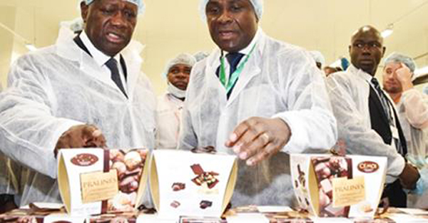 Cote divoire finally opens a chocolate factory
