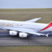 emirates entebe A380