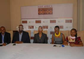 Tourism players in East Africa discussing the benefits of the Single Tourist Visa Deal in Kigali, Rwanda.