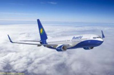 Rwandair air angola Gatwick