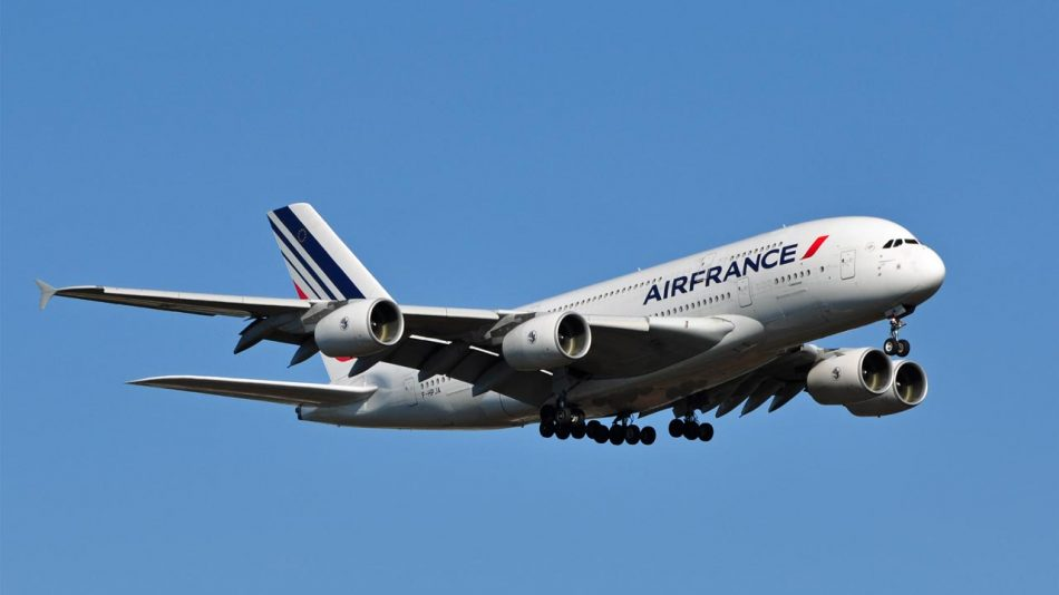 France KLM A380