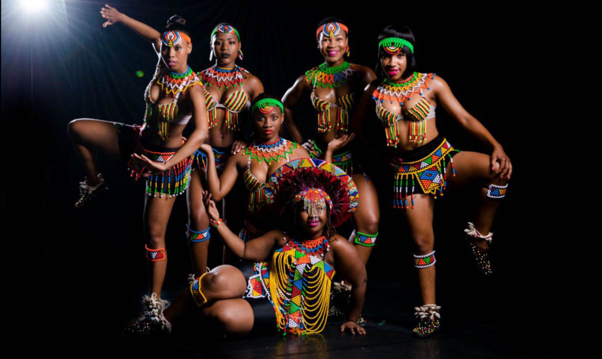 South African Dancers for Calabar Carnival