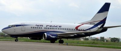 Air peace airlines operators