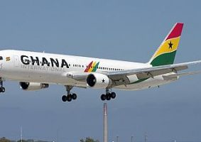 Ghana national carrier airlines airways aviation