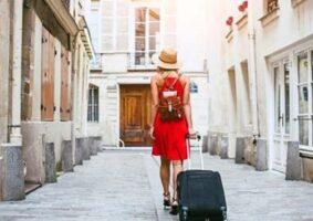 travel to a new destination