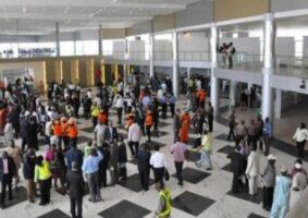 Enugu Nigerian passengers aviation at airports