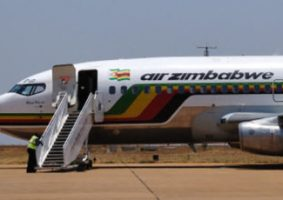 Airzim in cash airlines Zimbabwe