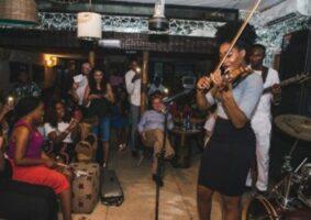 Lagos night club