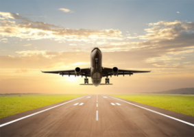 Mid Nigeria afdb plane transport travel pilgrims iata