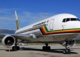 Zimbabwe south airzim airlines ethiopian