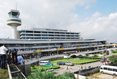 Nigerian airlines sirika airports