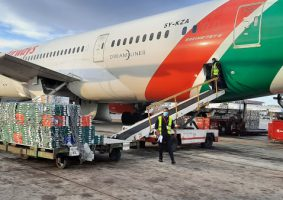 kenya, cargo, aviation passenger