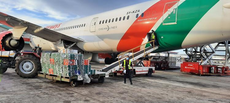 kenya, cargo, aviation