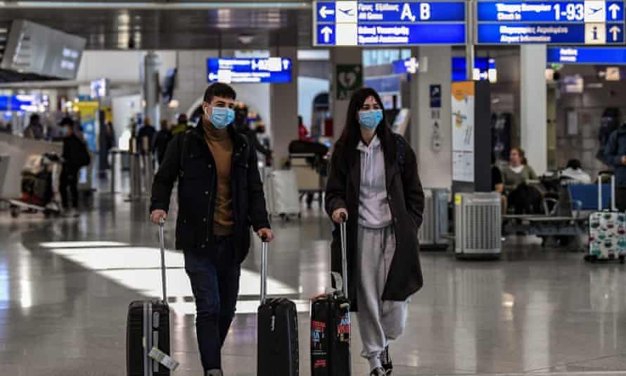 UK passengers travellers