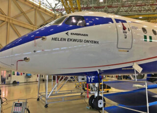 Embraer peace overland